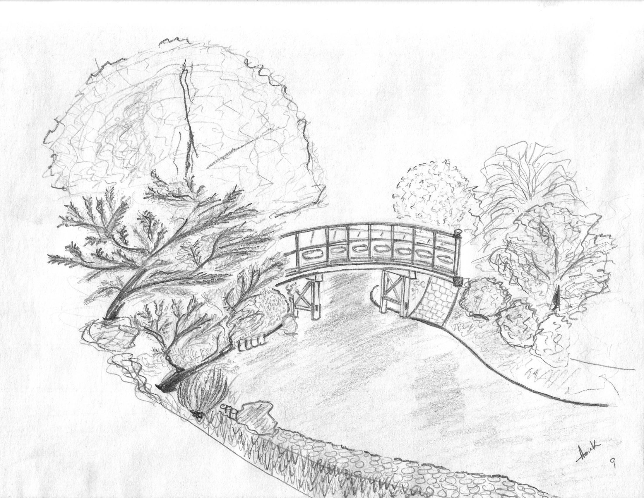 Landscape design drawing images frompo 1 for Landscape design sketches