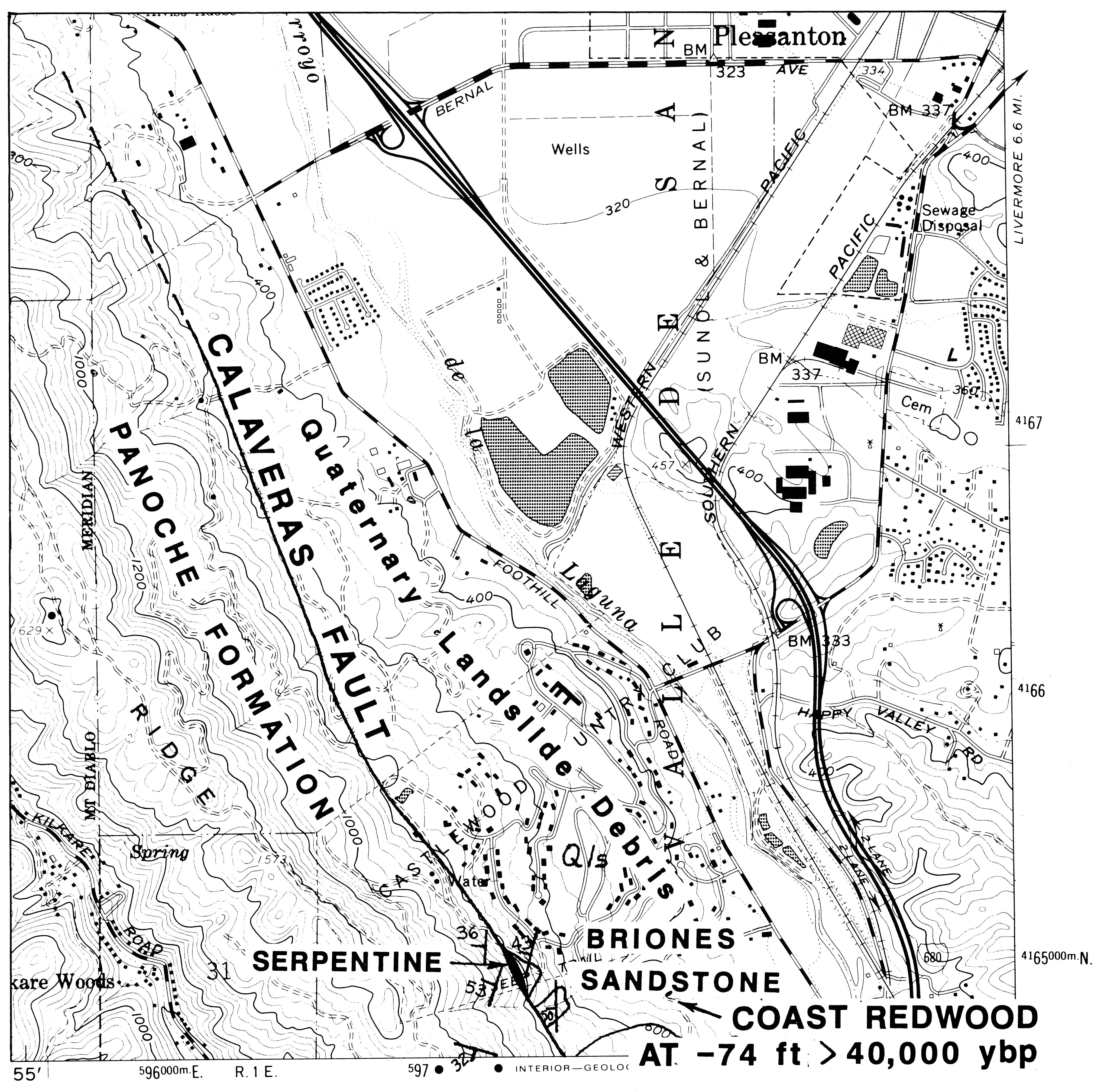 Tracking The Elusive Calavaras Fault From Sunol To San Ramon J David Rogers