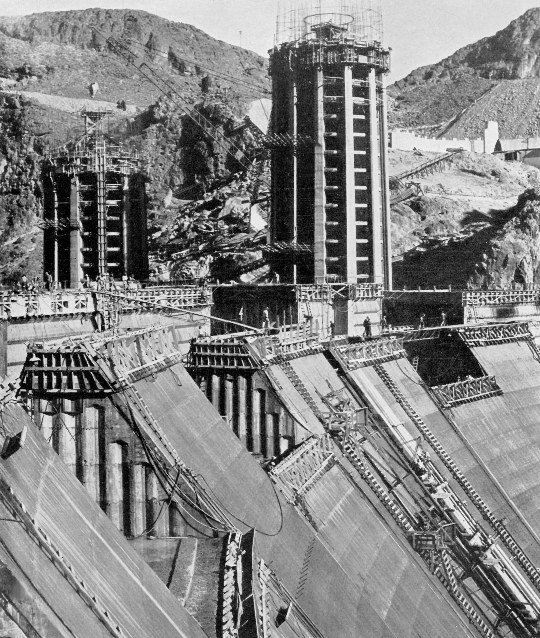 Hoover Dam Was The Most