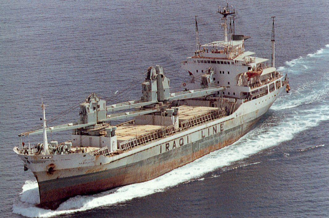 Iraqi Ship Dpi on Desert Aircraft Da 150