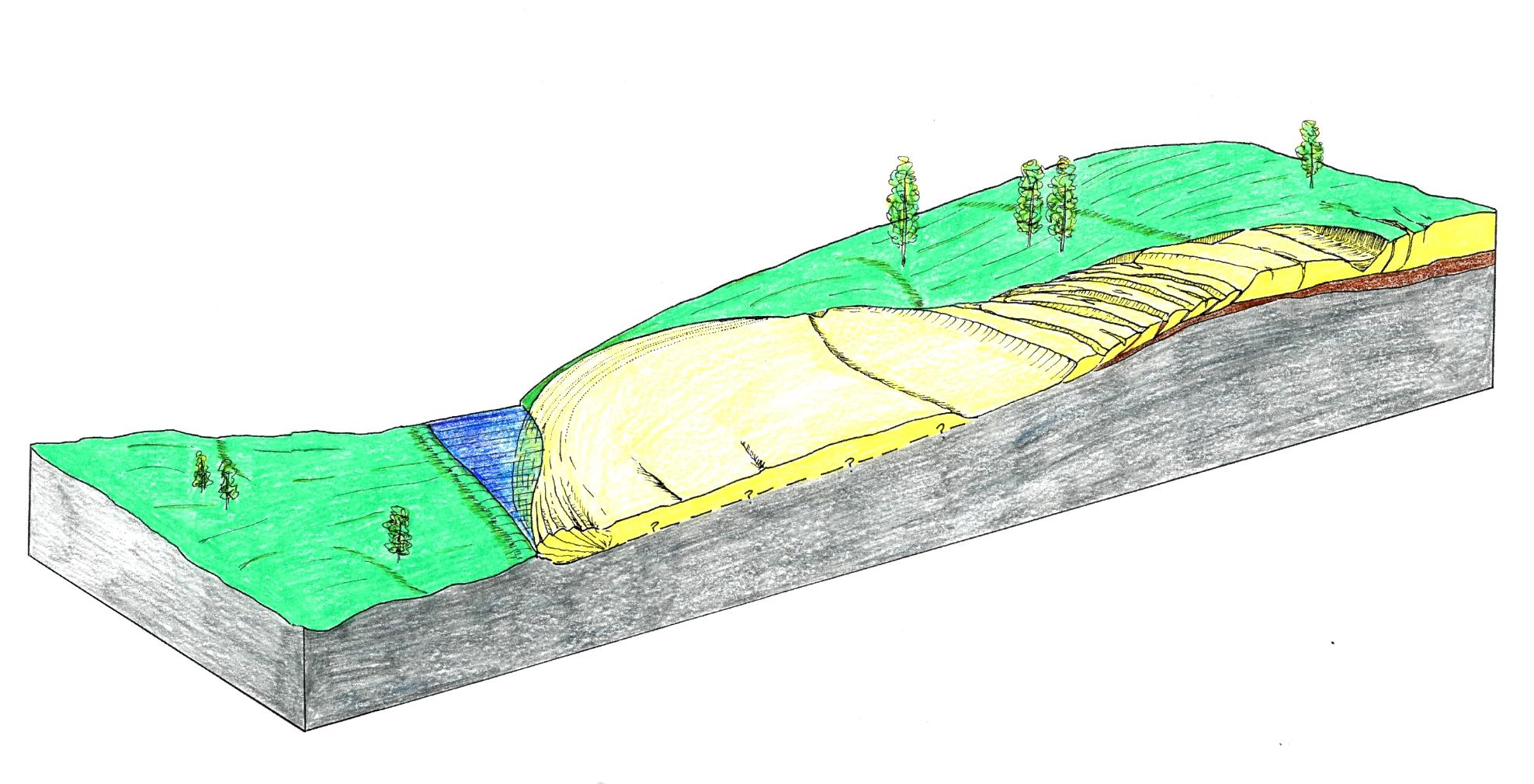 North side of Kai-Un Bridge area of the Sabaishi River – Lateral ...
